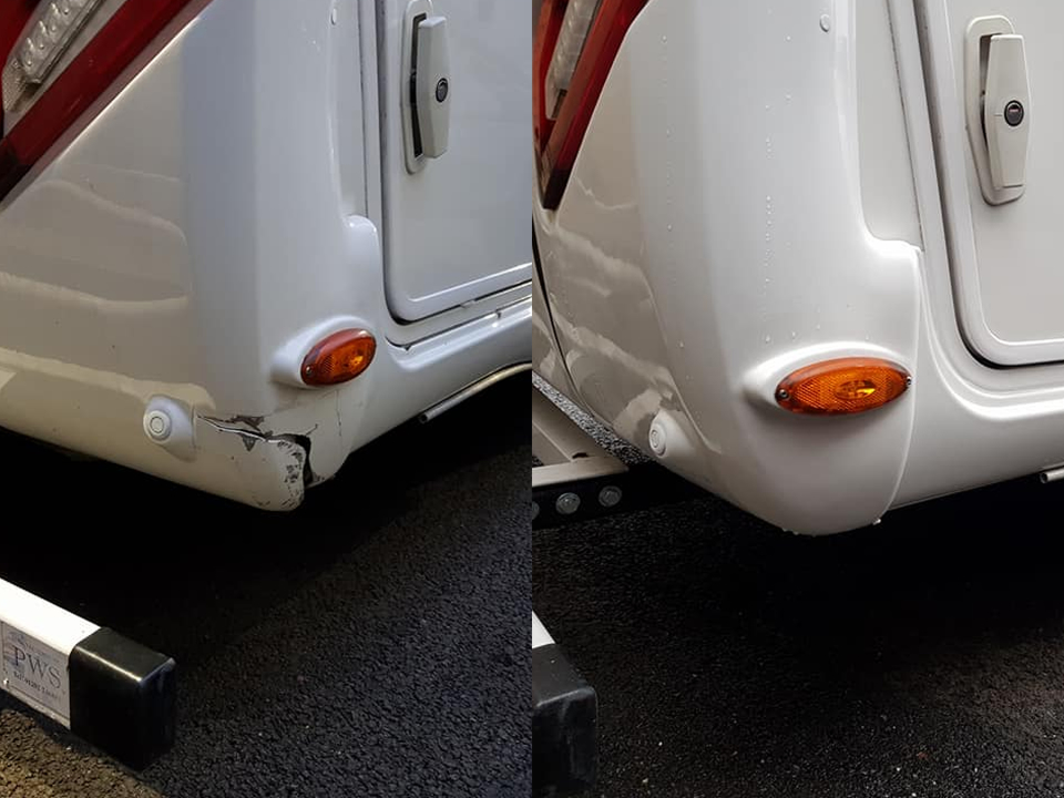 Motorhome Crack Repair
